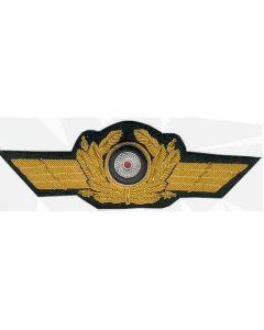 GERMAN LUFTWAFFE  GENERAL CAP WREATH IN GOLD