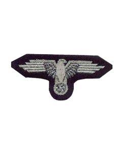 GERMAN SS CAP EAGLE INSIGNIA WW2