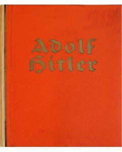 ORIGINAL 1936 GERMAN ADOLF HITLER CIGARETTE CARD BOOK