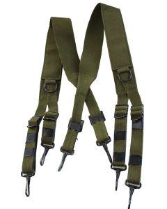 US M1936 OD7 GREEN FIELD SUSPENDERS or M43 SUSPENDERS