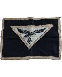 GERMAN WWII LUFTWAFFE DESK FLAG PENNANT
