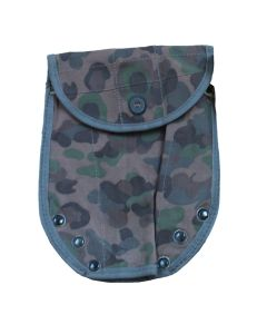"""AUSTRIAN ARMY SHOVEL """"PEA PATTERN"""" CAMOUFLAGE COVER"""