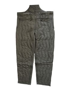 ORIGINAL GERMAN ARMY QUILTED THERMAL PANT LINER / TROUSERS