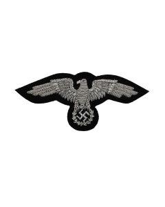 GERMAN WWII DIPLOMATIC CORPS SILVER VISOR CAP EAGLE