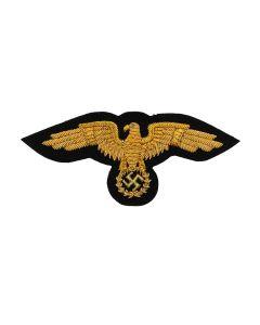 GERMAN WWII DIPLOMATIC CORPS GOLD VISOR CAP EAGLE