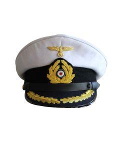 GERMAN U-BOAT CAPTAIN VISOR CAP - KRIEGSMARINE