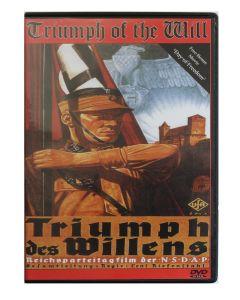 TRIUMPH OF THE WILL (TRIUMPH DES WILLENS) PROPAGANDA MOVIE IN DVD