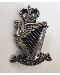 ROYAL IRISH RANGERS - IRISH REGIMENT BADGE