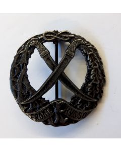 ITALIAN RUSSIAN FRONT BADGE - FRONTE RUSSO