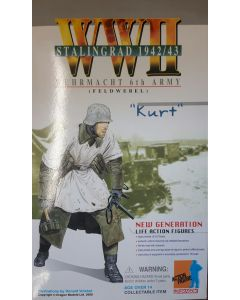 KURT 1/6 DRAGON 12in WW 2 GERMAN Whermacht 6th Army Stalingrad 1942 / 43