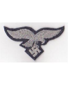 GERMAN LUFTWAFFE OFFICERS BULLION HAT EAGLE