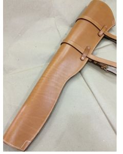 US M1 GARAND SCABBARD AND RIFLE LEATHER CARRIER