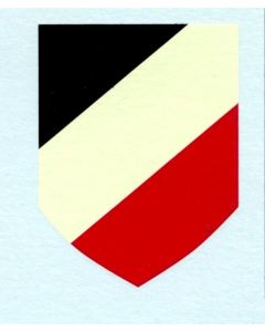 NATIONAL TRICOLOR GERMAN WWII DRY TRANSFER