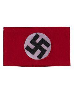 NAZI SA WOOL SWASTICA ARM BAND NSDAP