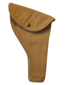 CANADIAN WW2 P37 KHAKI WEBLEY MK6 HOLSTER WITH CLEANING ROD - UNISSUED