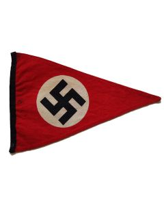GERMAN WW2 NSDAP (NAZI PARTY) PENNANT
