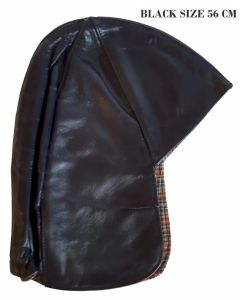 GERMAN LEATHER DRIVING CAP AS WORN BY ADOLF HITLER