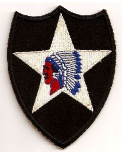 ORIGINAL 2ND INFANTRY DIVISION PATCH
