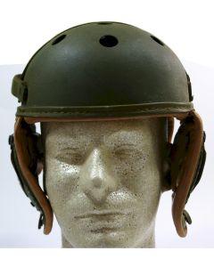 ORIGINAL AMERICAN WW2 M38 LEATHER TANKER HELMET by Rawlings Size 7 3/8