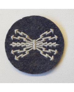 GERMAN WW2 LUFTWAFFE QUALIFIED RADIO OPERATOR TRADE PATCH