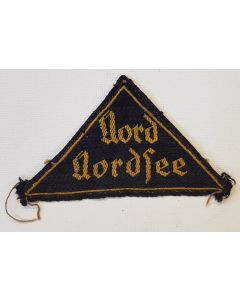 HITLER YOUTH DISTRICT SLEEVE TRIANGLE PATCH