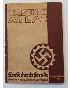 TASCHEN ATLAS (POCKET ATLAS) 1930'S KRAFT DURCH FREUDE, (STRENGTH THROUGH JOY) POCKET ATLAS