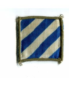 AUTHENTIC THEATER MADE 3RD INFANTRY DIVISION PATCH