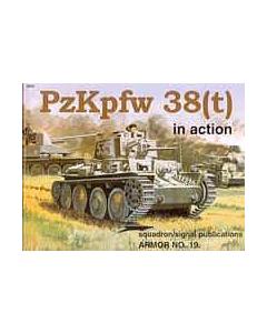 PzKpfw 38 (t) In Action Squadron/Signal Publication Armour No. 19