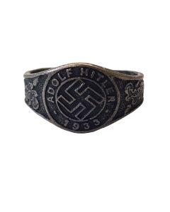 GERMAN ADOLF HITLER 1933 RING