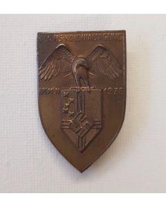 REICHS-KOLONIALTAGUNG BREMEN 1938 ( REICHSKOLONIALBUND) TINNIE