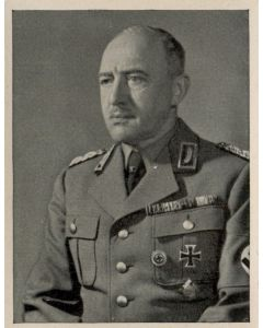 REICHSLEITER DES ARBEITSDIENFTES, GENERALMAJOR RONLTANTIN HIERL