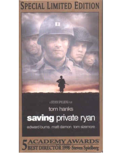 SAVING PRIVATE RYAN VIDEO Special Limited Edition