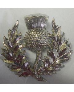 SCOTTISH RESERVE BATTALION CAP BADGE WW2