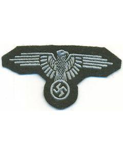 WWII GERMAN SS SLEEVE EAGLE EM
