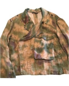 GERMAN WWII TAN WATER PATTERN PANZER WRAPPER MADE WITH ORIGINAL HBT MATERIAL