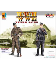 TIGER ACES - BOBBY & MICHAEL DRAGON ACTION FIGURE
