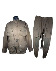 AMERICAN M1942 PARATROOPER JACKET AND TROUSER SET - REINFORCED