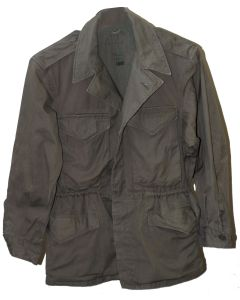 WWII US ARMY STYLE NORWEGIAN M43 COMBAT JACKET IN OLIVE GREEN