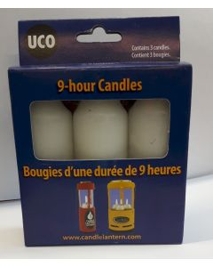 UCO 9-HOUR CANDLES FOR LANTERNS