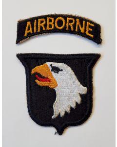 US 101ST AIRBORNE DIVISION PATCH ORIGINAL