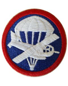 US WW2 AIRBORNE OFFICER'S COMBINED GLIDER PARACHUTE CAP PATCH
