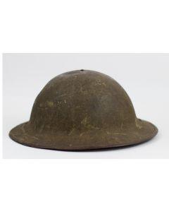 US WWI STEEL HELMET M-1917 DOUGHBOY HELMET LINER & CHINSTRAP