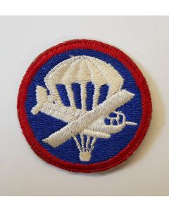 US WWII AIRBORNE OFFICER'S COMBINED GLIDER PARACHUTE CAP PATCH
