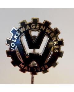 VOLKSWAGENWERK MAI 1938-MAY 1938 COMMEMORATIVE STICK PIN