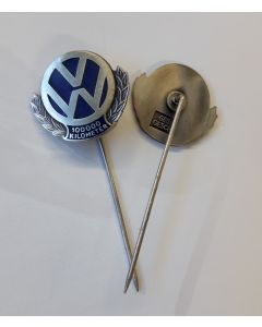 VW 100,000 Km STICK PIN