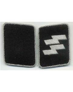SS OFFICER RUNIC, RUNES COLLAR TABS
