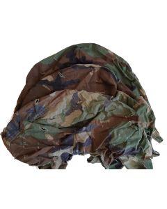 AMERICAN WOODLAND CAMOUFLAGE M1 HELMET COVER