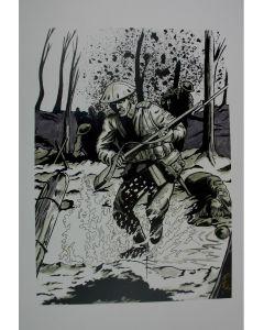 WW1 BATTLE POSTER