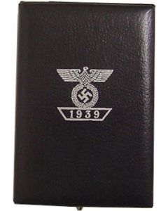 WWI IRON CROSS 1ST CLASS WITH 1939 SPANGE PRESENTATION CASE