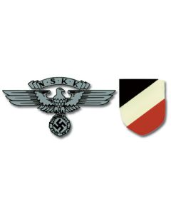 GERMAN NSKK HELMET DECALS
